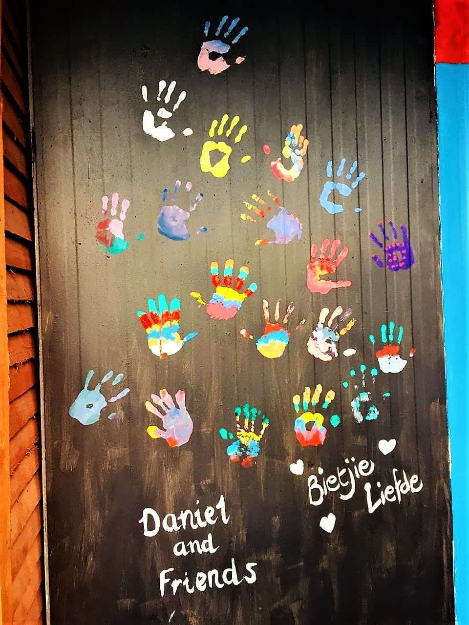 Mandela Day Project Painting at Sive Nati Licensed Home for Children
