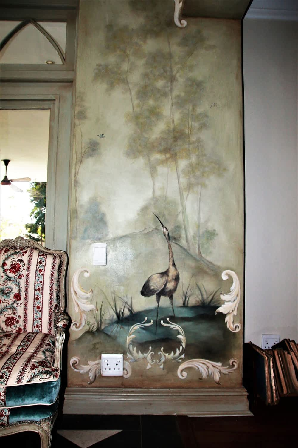 Image of Feature wall Hand Painted Fine Art Illustrations by Suléne Nortjé