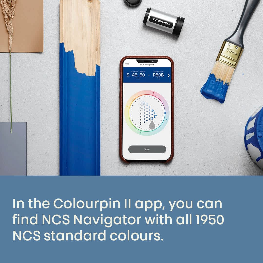 NCS Colourpin II Colour Matching Device