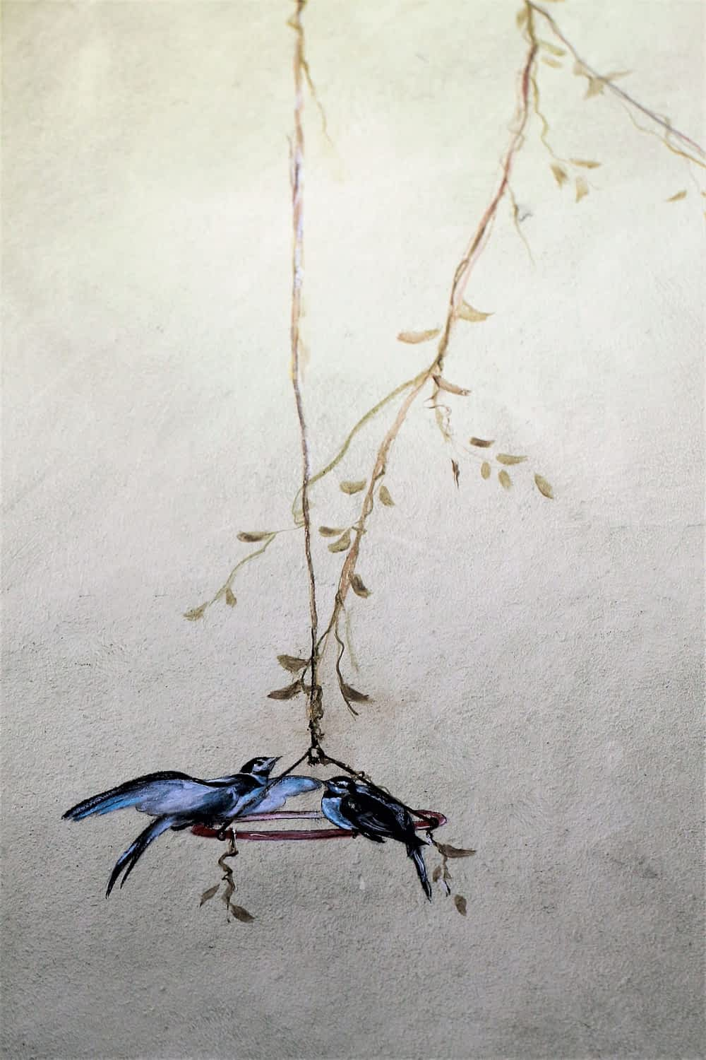 Image of wall Hand Painted Fine Art Illustrations by Suléne Nortjé
