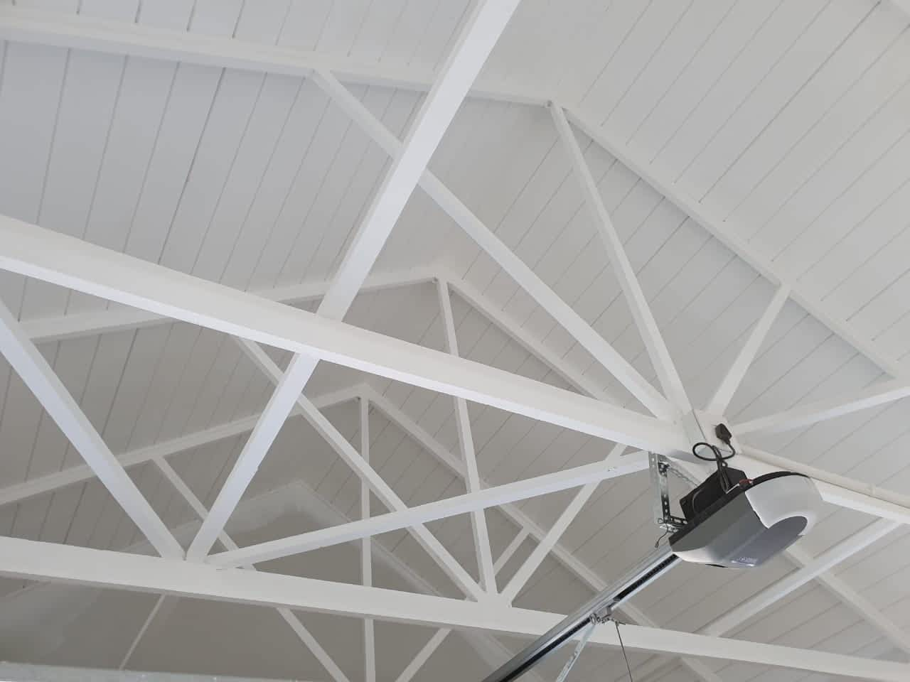 Roof shot of Blanca GIS (Pty) Ltd uses Graco Airless Paint Sprayers