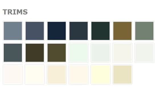 Steracon Colour Range